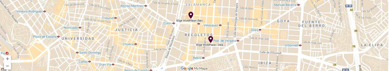 mapa oficinas eworkplace